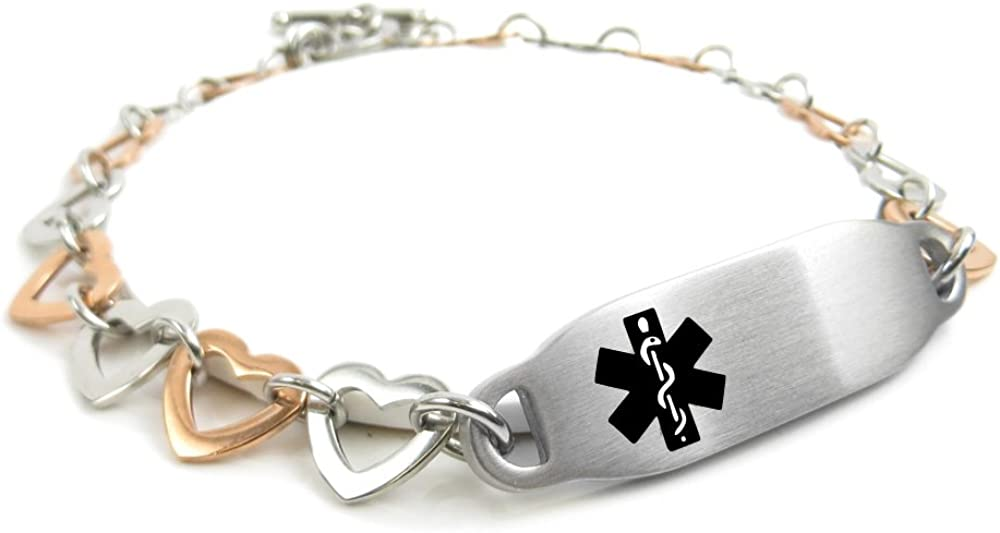 My Identity Doctor - Pre-Engraved  Customizable Hypoglycemia To