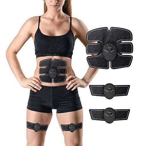 AZHom Elettrico Stimolanti ABS Trainer SME Addominale stimolatore Muscolare Cinture tonificazione Muscolare casa Allenamento Fitness-Dispositivo