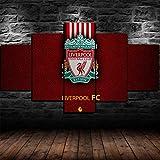 6Lv5Panel Leinwanddrucke Geburtstagsgeschenk-Liverpool Fc
