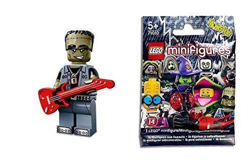 LEGO Minifiguren Zum Sammeln: Monster Rocker Minifigur (Serie 14)