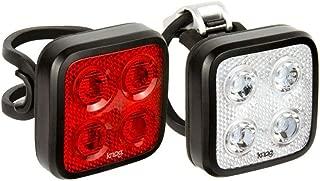 KNOG Blinder Mob Four Eyes Twinpack USB Rechargeable Light, Black