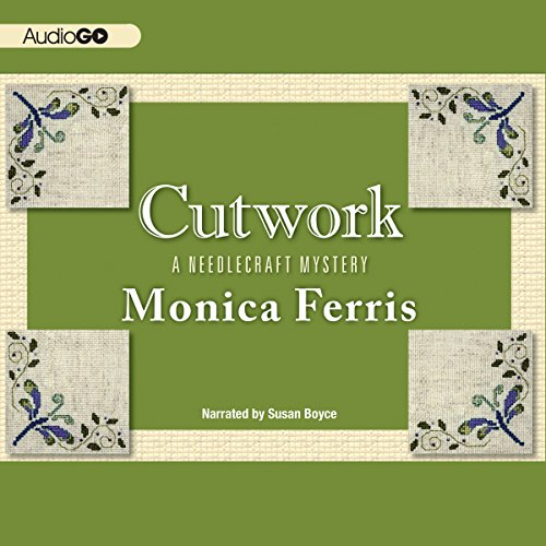Cutwork audiobook cover art