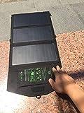 ZSPSHOP Cargador Solar Plegable Portátil Tesoro Teléfono Móvil Energía Móvil Aventura Al Aire Libre 5V Placa De Carga 21W