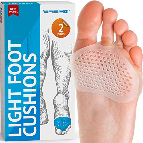 Metatarsal Pads Ball of Foot Cushions Soft Gel Ball of Foot Pads Mortons...