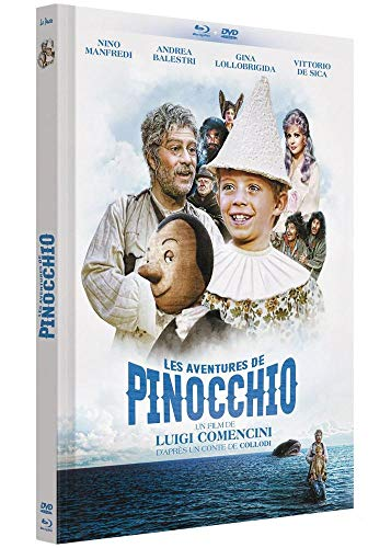 Les aventures de pinocchio [Blu-ray] [FR Import]