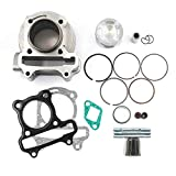 Trkimal Performance Upgrade Big Bore Cylinder Kit GY6 80cc 47mm for GY6 49cc 50cc 139QMB ATV Scooter Moped Go Kart