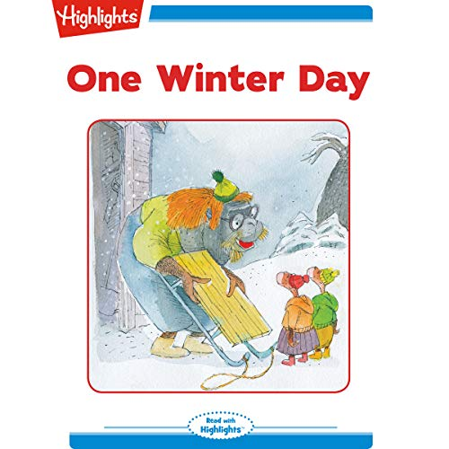 One Winter Day copertina