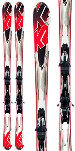K2 A.M.P. Force Skis w/ Marker M3 10.0 Bindings Youth Sz 146 by K2