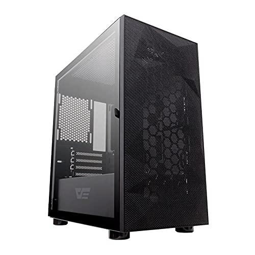 Caja de ordenador Micro ATX DarkFlash DLM21, malla, color negro (82070)