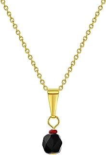 14k Vergoldet Einfach Schutz Amulett Labor Erstellt Azabache Baby Kinder Brosche