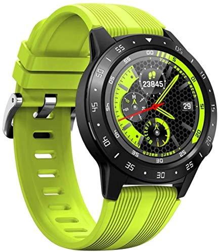 Anmino - Reloj inteligente con GPS para teléfono Android iOS, ritmo cardíaco y actividad física para todo el día, podómetro, contador de calorías, ras...