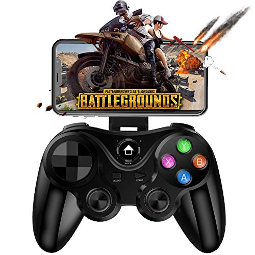Mobile Controller Gamepad, Megadream Key Mapping Gaming Joysticks Trigger for PUBG/Call of Duty & More Shooting Fighting Racing Game, for 4-6 inch Android Phone Tablet Samsung Huawei Xiaomi