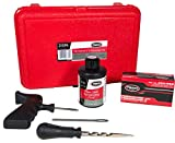 TECH Permacure Passenger Tire Repair Kit - The Ideal Size Tire Repairs and Tools for Passenger Cars, Light Trucks, SUVs, Trailers, ATVs, Golf Carts, Farm Equipment and More