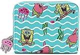 Loungefly Zip Arounf Wallet, Multicolor