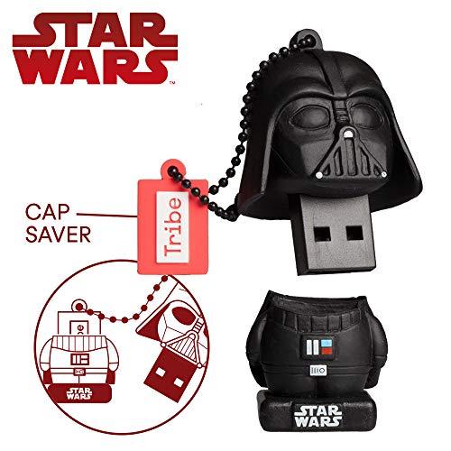 Chiavetta USB 16 GB Darth Vader TLJ - Memoria Flash Drive 2.0 Originale Star Wars, Tribe FD030509