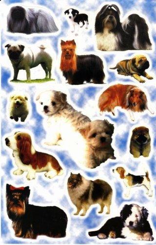 by soljo Canine Animaux Decal Autocollant de décalque 1 Dimensions de la Feuille: 27 cm x 17 cm