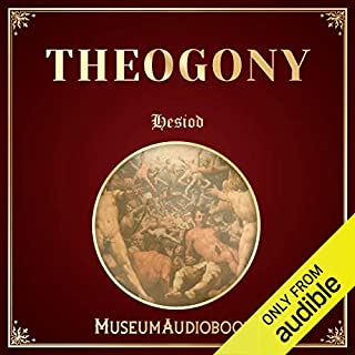 The Theogony of Hesiod audiobook cover art