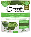 Organic Traditions Wheat Grass Juice Powder - 150 grams/ 5.3 ounces