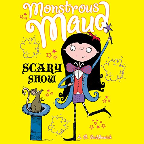 Monstrous Maud: Scary Show audiobook cover art