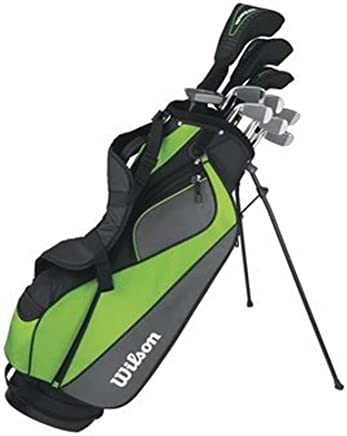 Wilson Men's HyperSpeed Complete Standard Golf Club Set & Bag WGGC47310 (Right)