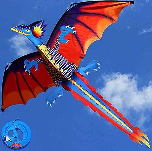 kite EIN Riesiger Dinosaurier, Ideal Für Kinder Und Erwachsene Ist. Leicht Zu Starten Bei Steifem Wind Oder Weißer Brise. Langlebig. Anf er Sind Leicht Zu Fliegen,150M