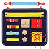 JOHEXI Busy Boards for Toddlers - Educational Learning Toys for Fine Motor Skills