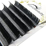 Primer Black Ellipse Flat Eyelash Extensions 0.15mm Thickness C Curl 8mm to 14mm Mixed Trays Individual Eyelashes for Professional Salon Use