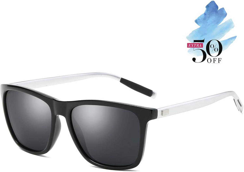 Unisex Polarized Aluminum Sunglasses Vintage Sun Glasses For Men Women 0733