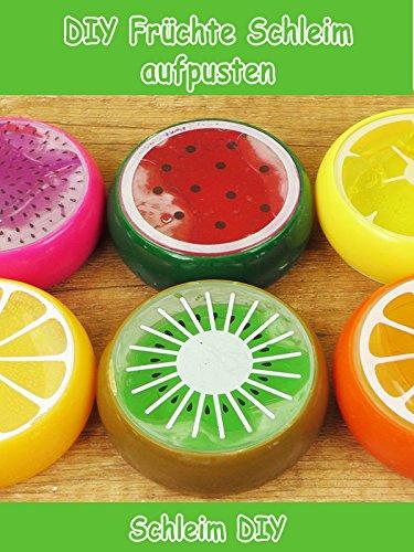Clip: DIY Früchte Schleim aufpusten - Schleim DIY
