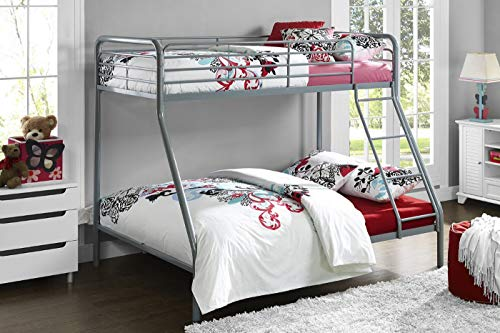 DHP Bunk Bed White Single Over Doubl