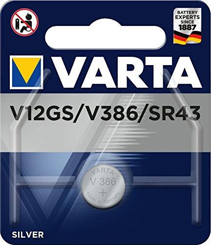 Varta Hörgeräte-Batterie V 12 GS/386 (1er Pack)