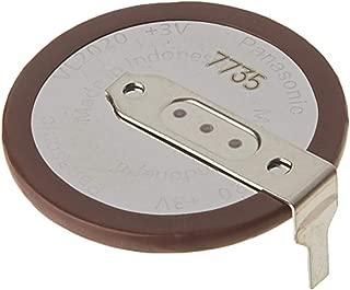 Panasonic VL2020 - Rechargeable Battery -  Lithium Coin 3V 20MM Horizontal Tab