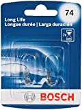 Bosch 74 Long Life Upgrade Minature Bulb, Pack of 2