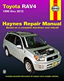 Toyota RAV4 (96-12) Haynes Repair Manual (Does not include information specific to RAV4 EV (Electric Vehicle ) models. Includes thorough vehicle coverage apart from the specific exclusion noted)