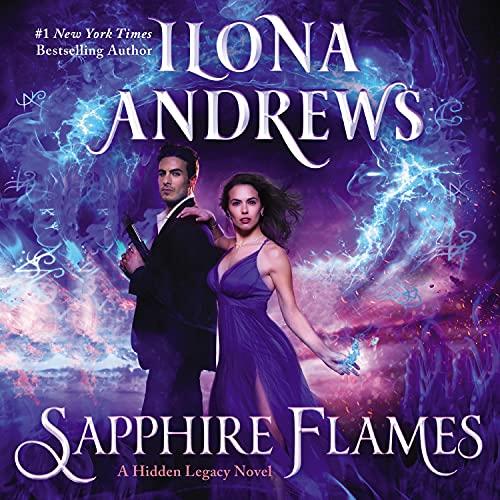 Page de couverture de Sapphire Flames