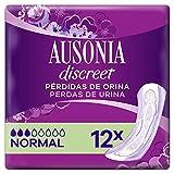 Ausonia Discreet Normal Compresas Pérdidas De Orina x 12