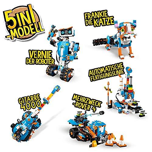 LEGO 17101 Boost Programmierbares Roboticset, 5-in-1 App-gesteuertes Baumodell mit einem programmierbaren, interkativen Roboter-Spielzeug und Bluetooth Hub, Programmierset für Kinder - 2