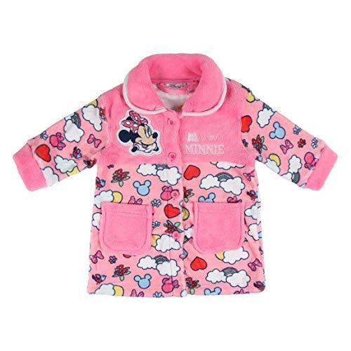 Artesania Cerda Batín Coral Minnie Bebé-Niñas, Rosa (Rosa C07), 36m para Bebés