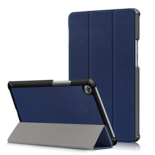 Kepuch Custer Hülle für Huawei MediaPad M5 8.4 SHT-AL09 SHT-W09,Smart PU-Leder Hüllen Schutzhülle Tasche Hülle Cover für Huawei MediaPad M5 8.4 SHT-AL09 SHT-W09 - Blau