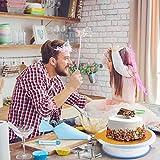 WisFox 103 Teiliges Tortenplatte Drehbar Tortenständer Kuchen Drehteller Cake Decorating Turntable mit Zuckerguss, SpritztüllenTipps-Set, und glatter, Gebäckwerkzeug für Anfänger und Profis - 7