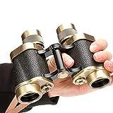 Allamp Reines Kupfer Binoculars Low Light Bereich Full Metal 8X30 High Power HD Travel Urlaub...