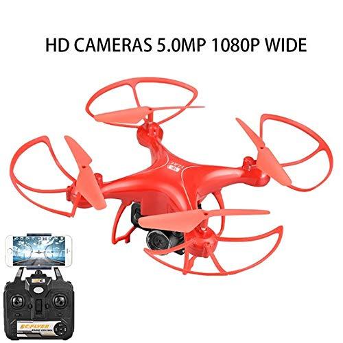 RC Drone Met Camera HD ESC Camera Drone Wifi FPV Aangepaste Route Vlucht Spraakbesturing Quadcopter RC Helicopter Drones Speelgoed, Kan Worden Gebruikt Als Cadeau Voor Uw Kind,Red