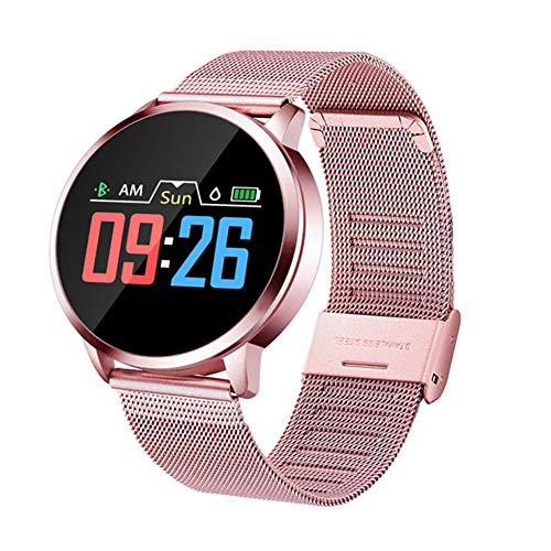 Taurusb Gesundheit & Fitness Smart Watch, Smart-Uhr-Mann-Farben-Schirm-Fitness Tracker Heart Rate Monitor Schlafüberwachung Call Reminder Sport Smartwatch,A1