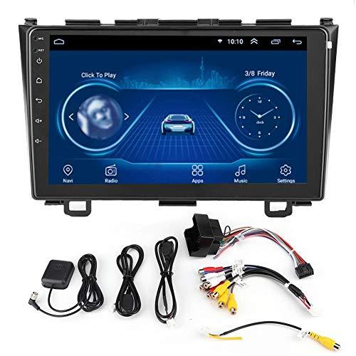 Navegación GPS, navegador GPS, reproductor MP5 de doble Din para coche para Android 9.1, compatible con CRV 2008 a 2011