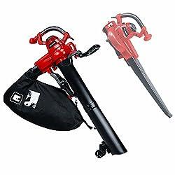 Einhell Elektro-Laubsauger GC-EL 3000 E (3.000 W, Saug-/Blasfunktion, verstellbarer Zusatzhandgriff, 45 L Fangsack, Blasluftstrom 300 km/h, max. Saugleistung 840 m³/h)