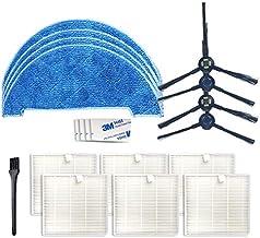 Funadd Household Cleaning Tools XI278 2 Pairs I258 Side Brush + 6 PCS I206 Filter + 4 PCS I262 Rag + 4 PCS G604 Magic Adhe...