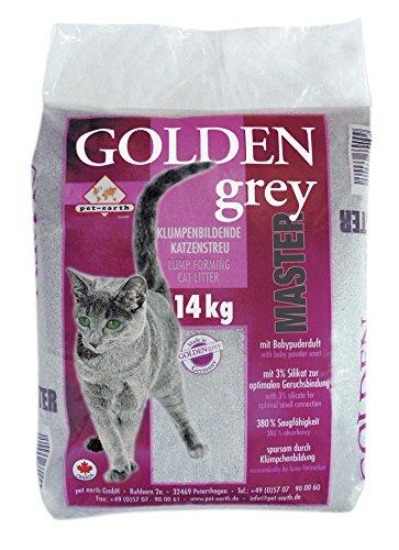 Golden Gris fine-14kg Baby Powder aroma + silicato apelmazarlas Aserrín