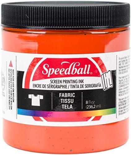 Speedball Fabric Screen Printing Ink, 8-Ounce, Black