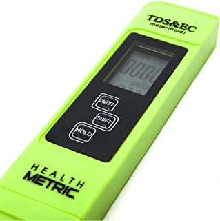 Professional TDS ppm Conductivity Meter – Quick and Easy EC TDS and Temperature..