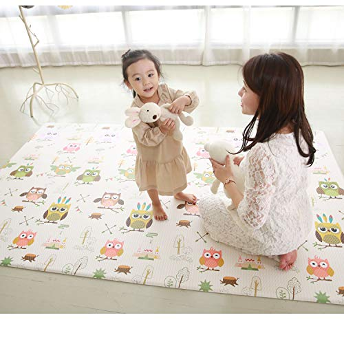 Check Out This Premium Baby Play Mat - Cushion Floor Foam Mat for Infants Kids Kindergarten – Wate...